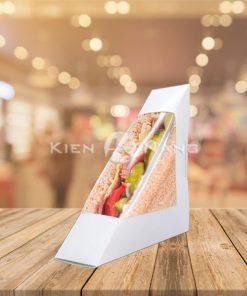 Hộp đựng bánh sandwich tam giác